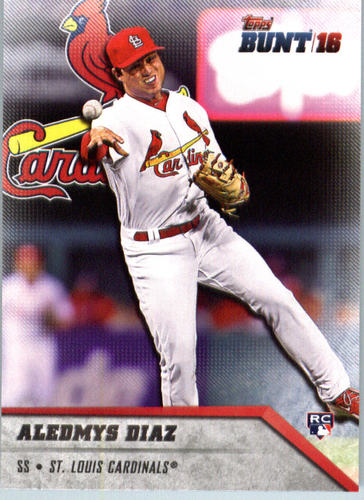 Photo of 2016 Topps Bunt #11 Aledmys Diaz  Rookie Card