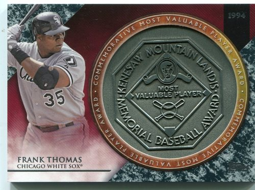 Photo of 2017 Topps Update MVP Award Relics #MVPRFT Frank Thomas