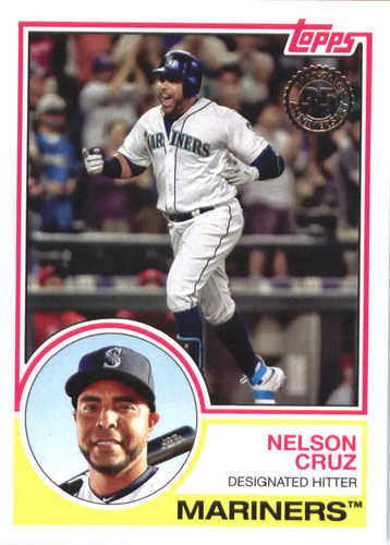 Photo of 2018 Topps '83 Topps #8335 Nelson Cruz