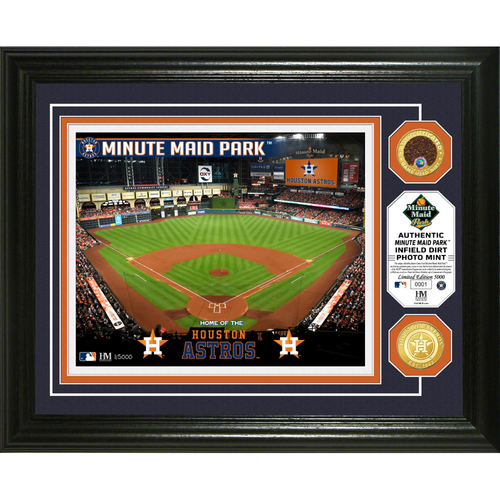 Photo of Houston Astros Dirt Coin Photo Mint