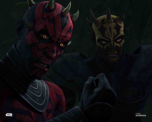 Darth Maul and Savage Opress