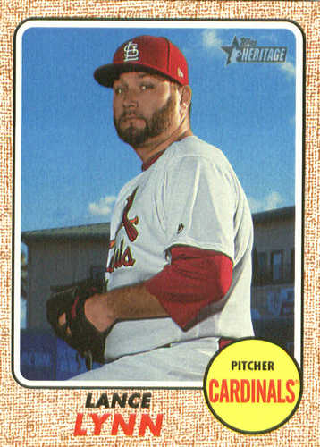 Photo of 2017 Topps Heritage #518 Lance Lynn