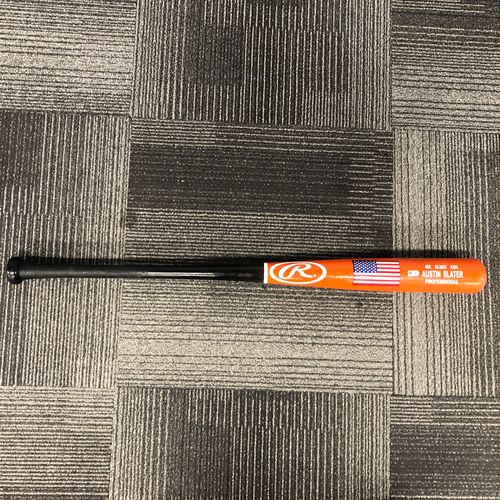 Photo of San Francisco Giants - 2018 Players Weekend Game Used Bat Used by #53 Austin Slater on 8/25/18 vs. TEX