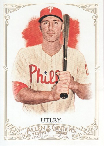 Photo of 2012 Topps Allen and Ginter #291 Chase Utley
