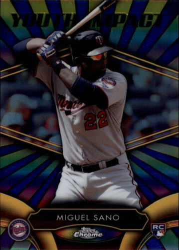 Photo of 2016 Topps Chrome Youth Impact #YI6 Miguel Sano