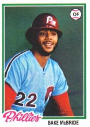 Photo of 1978 Topps #340 Bake McBride