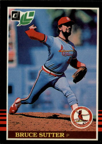 Photo of 1985 Leaf/Donruss #163 Bruce Sutter