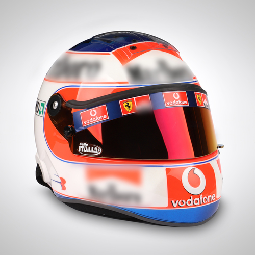 Photo of Rubens Barichello 2004 1:1 Replica Helmet