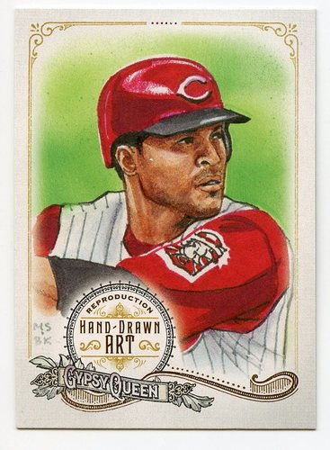 Photo of 2017 Topps Gypsy Queen Hand Drawn Art Reproductions #GQARBL1 Barry Larkin