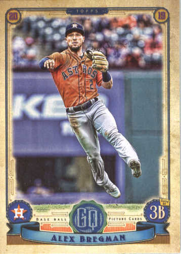Photo of 2019 Topps Gypsy Queen #267 Alex Bregman