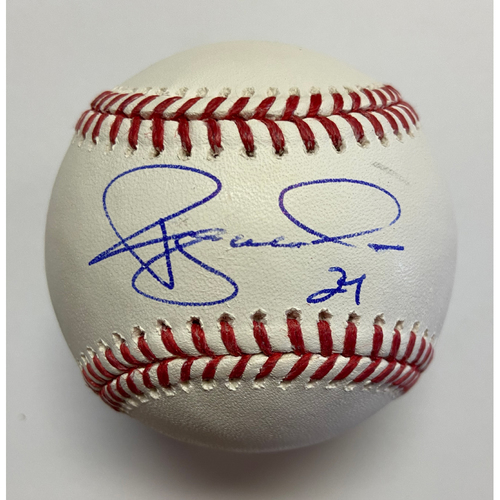 Photo of Ryan McMahon Autographed Authentic Baseball
