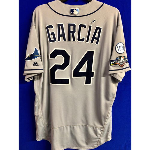 Photo of Team Issued Postseason Road Gray Jersey: Avisail Garcia - 2019