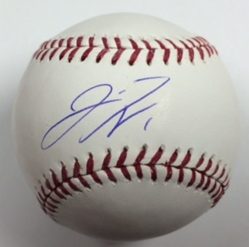 Photo of Jarrod Dyson Autographed Baseball