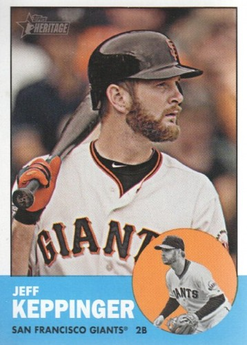 Photo of 2012 Topps Heritage #199 Jeff Keppinger
