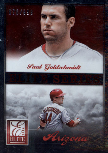 Photo of 2014 Elite Series Inserts #12 Paul Goldschmidt