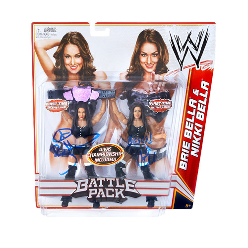The Bella Twins 2-Pack Series 15 SIGNED Action Figures