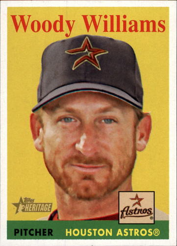 Photo of 2007 Topps Heritage #35b Woody Williams YT