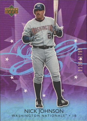 Photo of 2006 Upper Deck Future Stars Purple #74 Nick Johnson