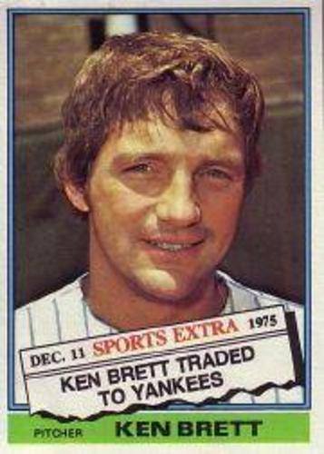 Photo of 1976 Topps Traded #401T Ken Brett