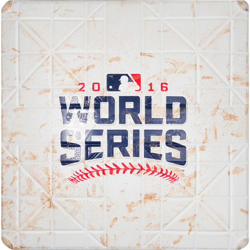 2016 World Series Game 1: Game-used 3rd Base, Used during 1st and 2nd Innings