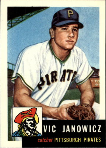 Photo of 1991 Topps Archives 1953 #222 Vic Janowicz