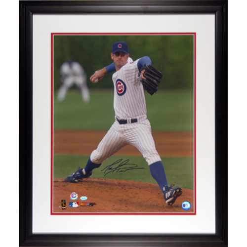 "Photo of Mark Prior Chicago Cubs Autographed 16"" x 20"" Framed Photo"
