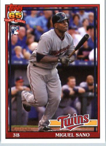 Photo of 2016 Topps Archives #237 Miguel Sano RC