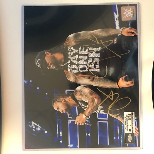 Photo of The Usos SIGNED 8 x 10 Limited Edition WrestleMania Photo (Random Number)