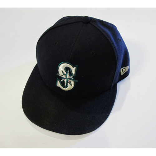 Photo of Seattle Mariners Dan Altavilla Team Issued 2017 Navy Cap