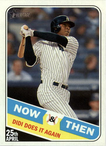 Photo of 2018 Topps Heritage Now and Then #NT15 Didi Gregorius