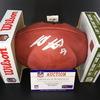NFL - Ravens Hayden Hurst Signed Authentic Football