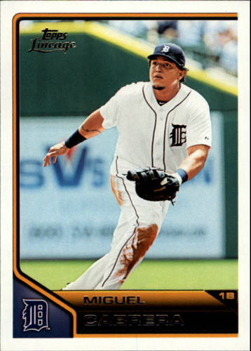 Photo of 2011 Topps Lineage #143 Miguel Cabrera