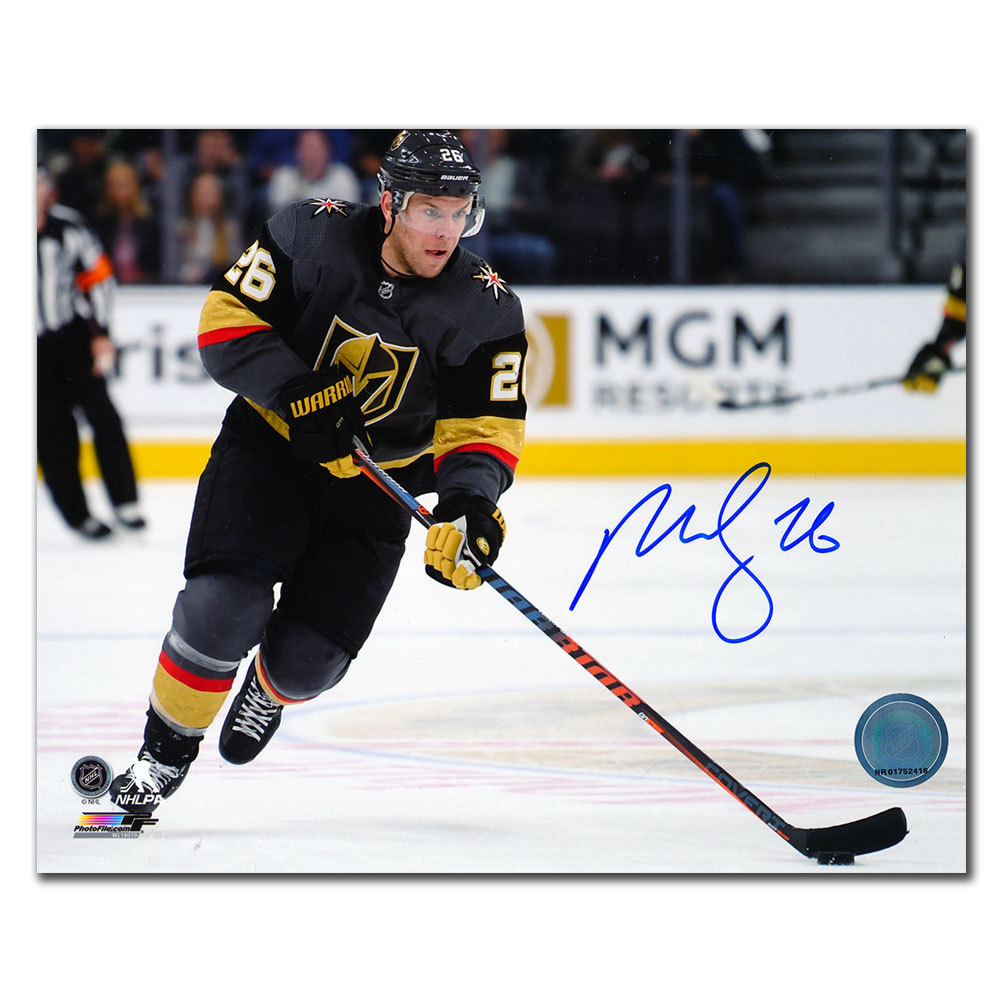 Paul Stastny Vegas Golden Knights Autographed 8x10