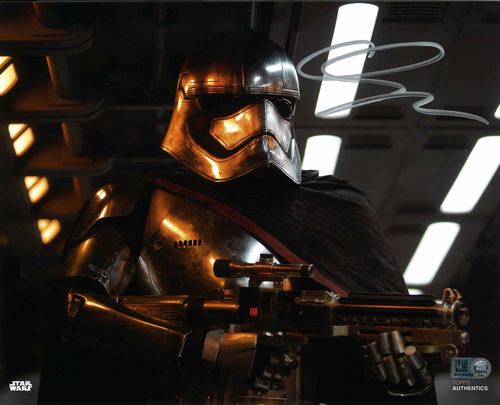 Gwendoline Christie As Captain Phasma 8X10 AUTOGRAPHED IN 'Silver' INK PHOTO