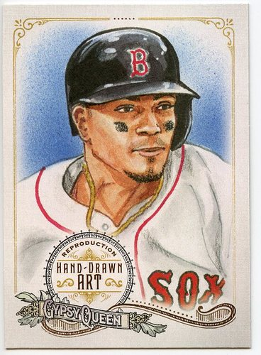 Photo of 2017 Topps Gypsy Queen Hand Drawn Art Reproductions #GQARXB1 Xander Bogaerts