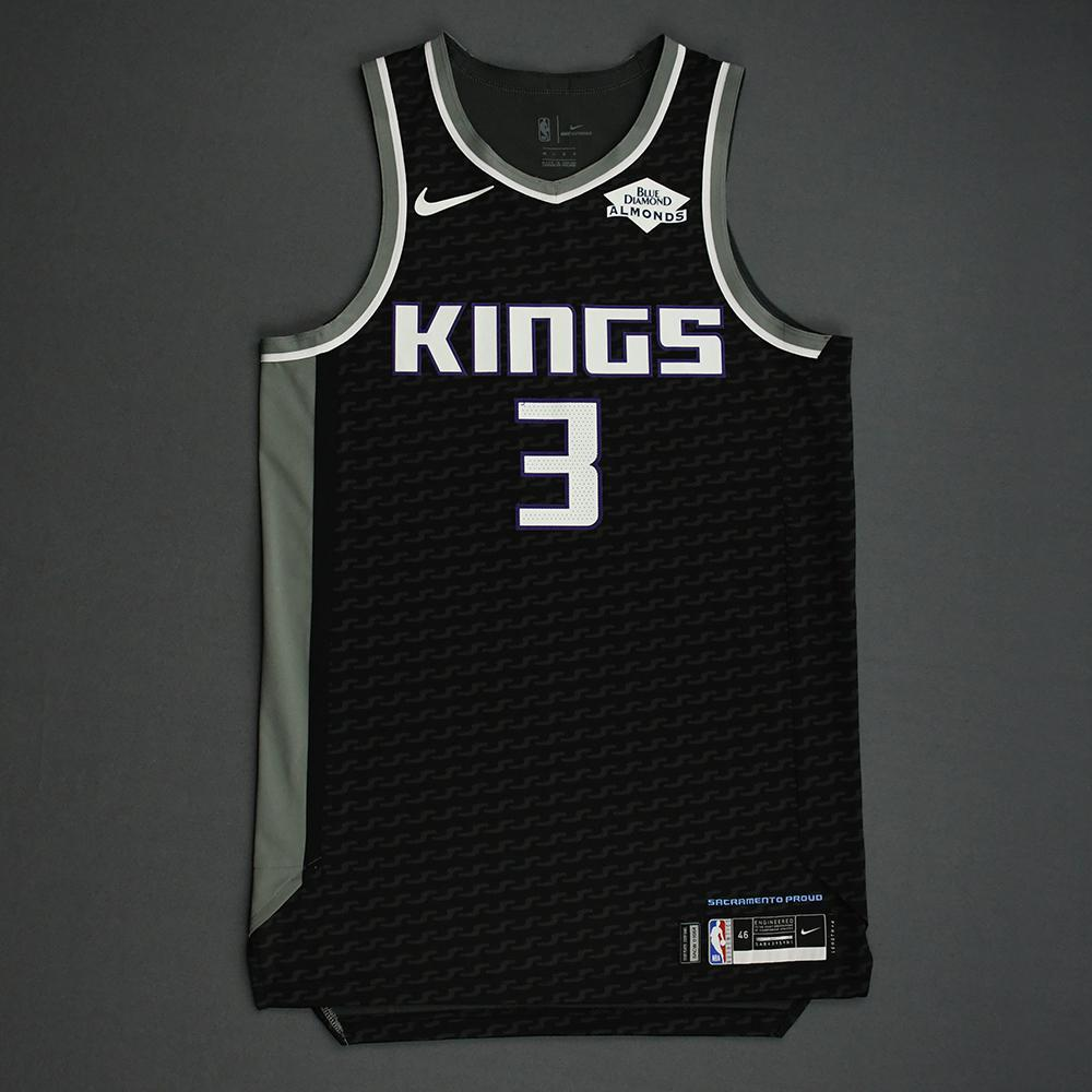 Yogi Ferrell - Sacramento Kings - Game-Worn Statement Edition Jersey - NBA India Games - 2019-20 NBA Season