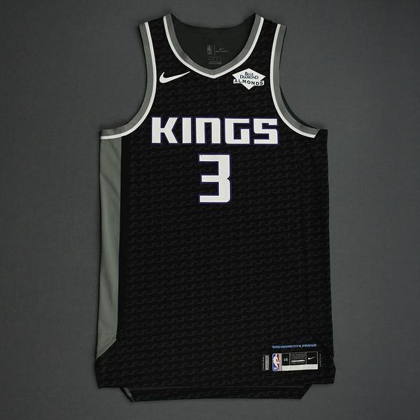 Image of Yogi Ferrell - Sacramento Kings - Game-Worn Statement Edition Jersey - NBA India Games - 2019-20 NBA Season