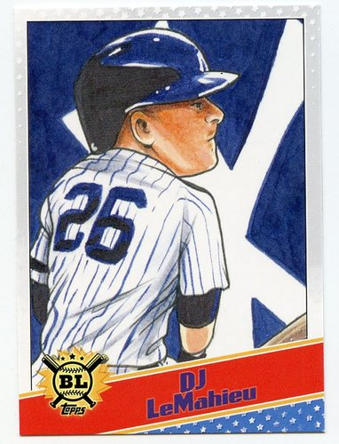 Photo of 2020 Topps Big League Star Caricature Reproductions #SCODL DJ LeMahieu