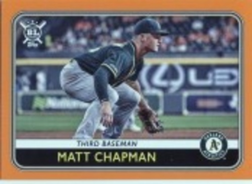 Photo of 2020 Topps Big League Orange #205 Matt Chapman
