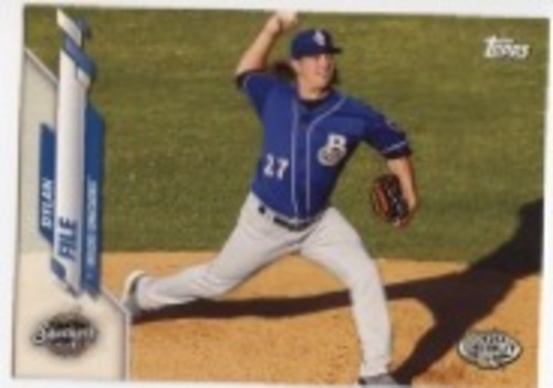 Photo of 2020 Topps Pro Debut #PD115 Dylan File