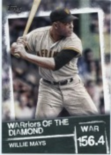 Photo of 2020 Topps Warriors of the Diamond #WOD4 Willie Mays