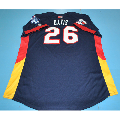 Photo of Game-Used Jersey - 2016 Texas League All-Star Game - J.D. Davis