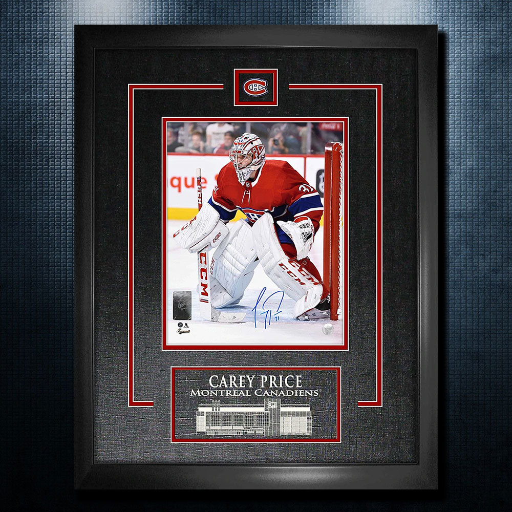 Carey Price Montreal Canadiens Autographed 18x22 Frame