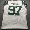 Jets - Ed Stinson Game Used Jersey Size 44