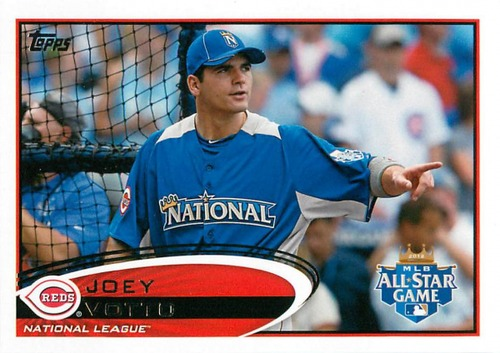 Photo of 2012 Topps Update #US255A Joey Votto