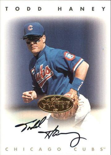 Photo of 1996 Leaf Signature Autographs Gold #93 Chris Haney