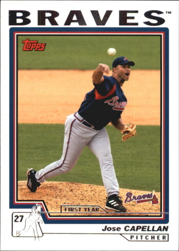 Photo of 2004 Topps Traded #T143 Jose Capellan FY RC