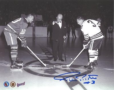 PIERRE PILOTE SIGNED 8x10 Photo Face Off vs Armstrong Photo
