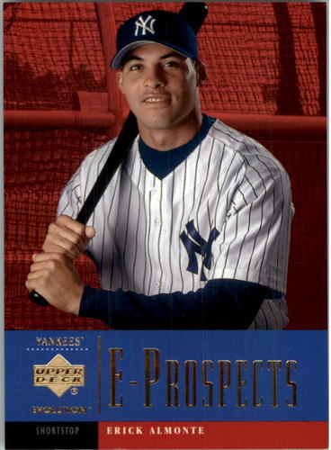 Photo of 2001 Upper Deck Evolution #105 Erick Almonte PROS RC