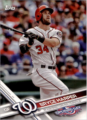 Photo of 2017 Topps Opening Day #20A Bryce Harper